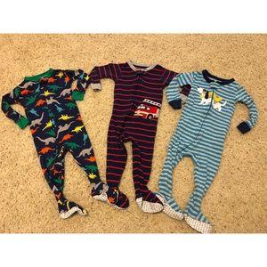 Baby Boy Footie Pajamas